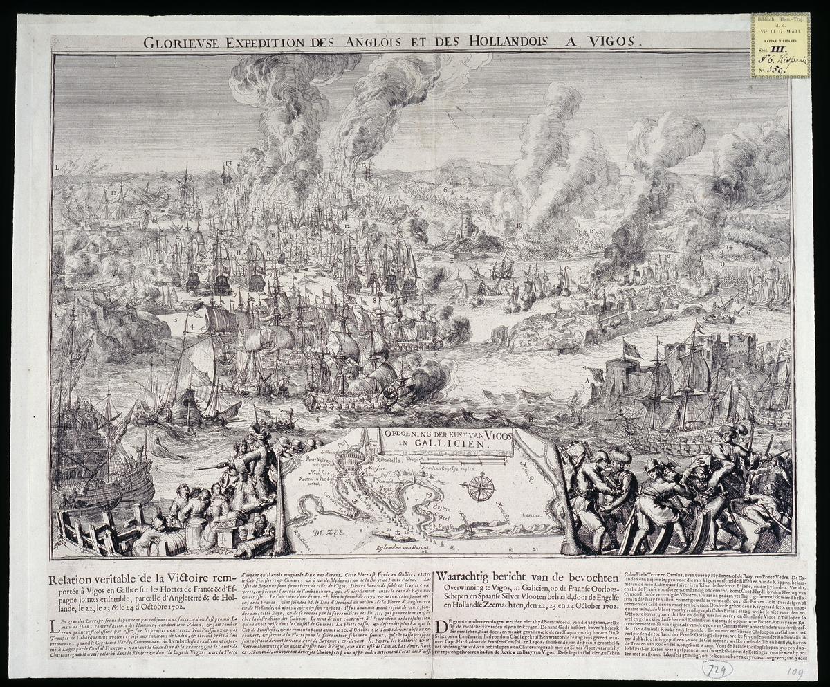 Anglois glorieuse expedition des anglois et des hollandois a vigos.
